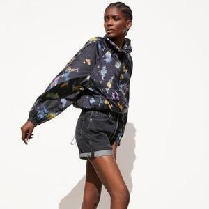 NWT Packable Raincoat Waistbag Tie Dye 4391/002